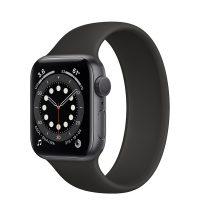 ساعت هوشمند اپل واچ سری 6 آلومنیوم خاکستری با بند اسپرت سیلیکون