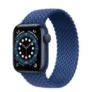 ساعت هوشمند اپل واچ سری 6 آلومنیوم آبی با بند اسپرت لوپ